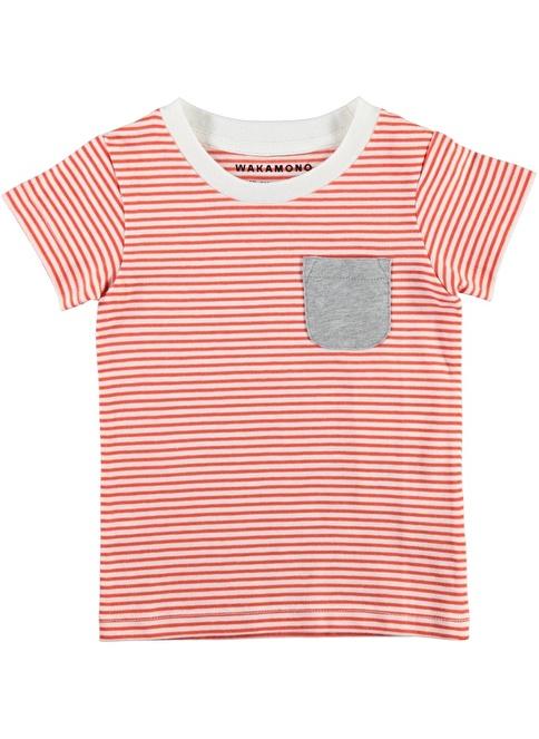 Wakamono Tişört Kırmızı